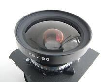 Fuji (Fujinon) SWD 90mm /f 5.6 lens, Copal shutter, a lensboard (572881)