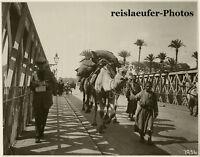 Nile Bridge at Cairo, Original Photo, ca. 1910