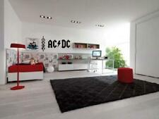 AC DC Wall Art Decal Vinyl Boys Kids Garage Band Room