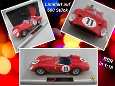 Ferrari 250 TR59/50 Sieger Le Mans 1960 Limitiert auf 600 Stück  BBR  1:18  NEU