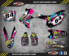 Honda CRF 450 / 2013 - 2016 Full  Custom Graphic Kit ACTIVE Style sticker kit