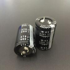 1pcs 470uF 400V Japan Nichicon GN 30x45mm 400V470uF PSU Snap-in Capacitor
