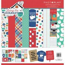Crafts 12X12 Paper Pack Living Quarantine Life Survived 2020 ToiletPaper Crisis