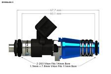 INJECTOR DYNAMICS ID1050 Fuel Injector Integra 94-01 Civic 88-00 1050.60.11.14.4