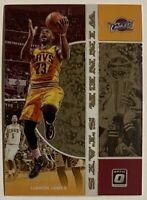 2019-20 Optic LeBron James Winner Stays SP Insert #10 Cleveland Cavs Heat Lakers
