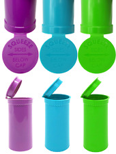 More details for 13 dram pop top kush squeeze pot stash container smell proof child proof fresh