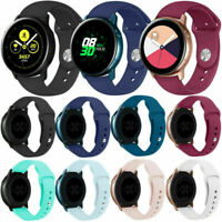 Für Samsung Galaxy Watch Active Sports Silikon Band Uhrenarmband Armband L/S