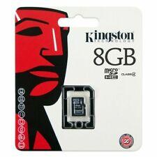 Kingston Class 4 8GB microSDHC Memory Card - SDC4/8GBSP