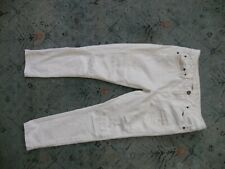 Women's AMERICAN EAGLE slouchy white distressed jeans Sz. 0