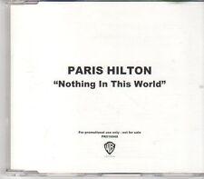(EN28) Paris Hilton, Nothing In This World - 2006 DJ CD