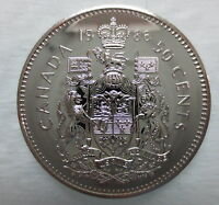 1986 CANADA 50 CENTS PROOF-LIKE HALF DOLLAR COIN