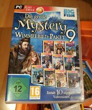 Das große Mystery Wimmelbild Paket 9 mit 10 Vollversionen PC DVD-ROM, NEU&OVP