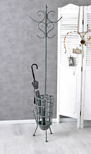 Stand wardrobe vintage style coat hook metal umbrella holder freestanding new