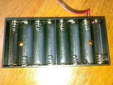 New Plastic 8 X AA 2A 1.5V CELL Battery Holder Storage Box standard 12V Case UK