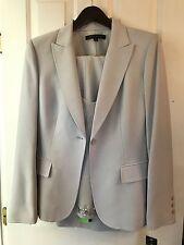 ANNE KLEIN 3 piece Capri Dress Pant Suit NWT Light Gray Stone 12  UK 16 IT 46