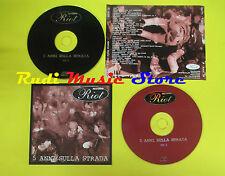 CD 5 ANNI SULLA STRADA compilation 2001 BELINTESTA CAIN LAGHETTO (C2)no lp mc