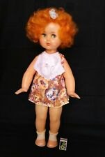 1970's Ussr Soviet Russian Large Size Plastic Doll Sound