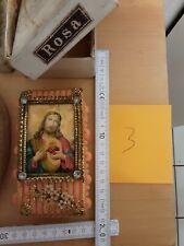 Jesus Wax Wachs Foto block communion Taufe 40s devotional items christian german