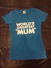 T-shirt, maglie e camicie da donna blu Fruit of the Loom cotone
