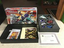 Transformers BotCon 2007 Timelines Classics Games of Deception Set Complete MIB