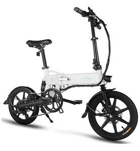 Folding Electric Bike Ebike, 16'' Electric Bicycle 25Mph with 36V 7.8Ah