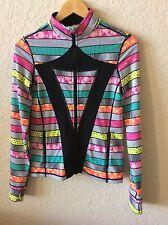 Ivivva by Lululemon Girls Multicolor Stride Jacket size 14