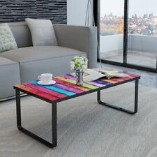 New Glass Coffee Table 2 Patterns Selectable Side Coffee End Table Living Room