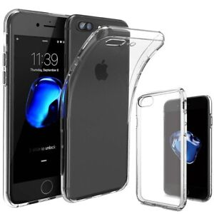 Shockproof Silicone Back Protective Clear Case For iPhone 5 5S 6 7 8+ XR Xs Max