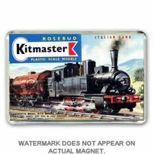 RETRO  KITMASTER ITALIAN TANK LOCO KIT BOX ARTWORK JUMBO Fridge / Locker Magnet