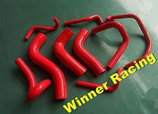 RED silicone radiator&heater hose for Mazda MX-5 MX5 Miata B6ZE 1.6L 1990-1993
