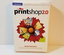 The Print Shop 2.0 PC DVD-Rom windows encore desktop publishing software