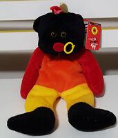 BEANIE KIDS SAMMY THE PUNK BEAR PLUSH TOY! SOFT TOY AND TAG! TEDDY BEAR!