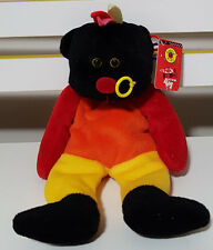 BEANIE KIDS SAMMY THE PUNK BEAR PLUSH TOY! SOFT TOY AND TAG! TEDDY BEAR!