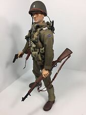 1/6 BBI US 2ND RANGER LT M1GARAND D-DAY GARAND+COLT 1911 WW2 DRAGON DID 21st