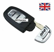 3 BUTTON SMART REMOTE KEY CASE WITH BLADE FOR AUDI A3 A4 A5 A6 A7 +LOGO *A13