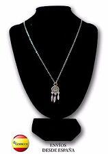 Collar Atrapasueños - Amuleto y talismán de protección - Tamaño discreto (12 mm