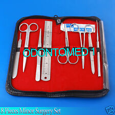 Minor Surgery Set 8 Pieces Surgical Instruments kit Stainless Steel Brand DS-715