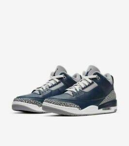 "Jordan Retro 3 ""Georgetown"" Size 9.5 *NIB*"