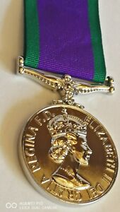 New Collectable Queen Elizabeth ll Campaign Service Medal Military