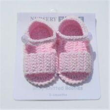 Chaussures roses pour bébé en 100% coton