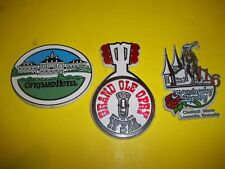 Vintage Grand Ole Opry- Kentucky Derby refrigerator magnets
