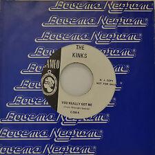 "THE KINKS - YOU REALMENTE GOT ME - PROMO 7""SINGLE (G412)"