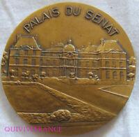 MED10013 - MEDAILLE PALAIS DU SENAT JEAN BERANGER SENATEUR DES YVELINES 1977-86