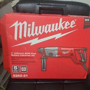 Milwaukee 5262-21 1 inch SDS Plus Rotary Hammer Kit
