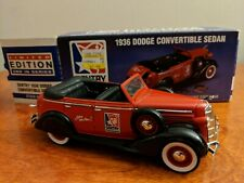 Liberty Classics Sentry Hardware Dodge Convertible Sedan Bank 1/25 Scale 1996