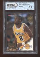 Kobe Bryant RC 1996-97 NBA Hoops #281 Lakers HOF Rookie GEM MINT 10
