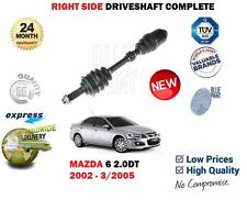 FOR MAZDA 6 2.0 TD 2002-3/2005 NEW FRONT RIGHT SIDE ABS DRIVESHAFT DRIVE SHAFT