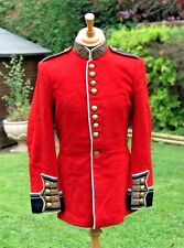 IRISH GUARDS OFFICERS VINTAGE RED DRESS TUNIC,BUCKINGHAM PALACE, MAGNIFICENT!