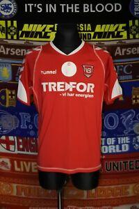 4/5 Vejle Boldklub adults L 2014 home football shirt jersey trikot soccer