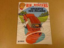 STRIP / RIK RINGERS N° 29 - OPERATIE 100 MILJARD